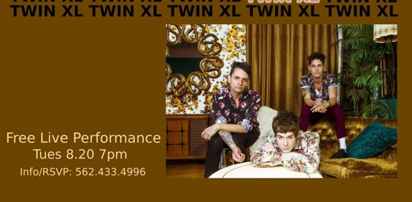 Twin XL Fingerprints Music In-Store Live Performance Poster