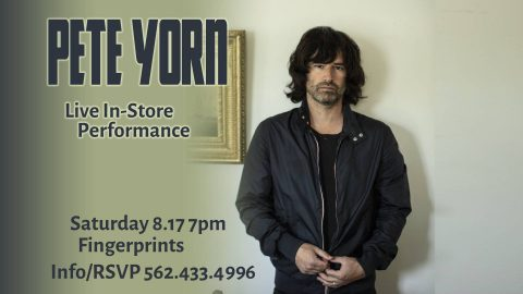 Pete Yorn Fingerprints Music In-Store Live Performance Poster