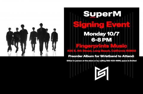 Super M Fingerprints Music Signing Session