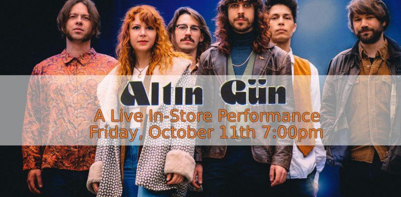 Altin Gun - Fingerprints Music Live Performance Poster
