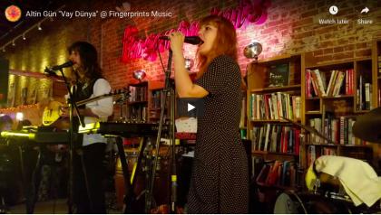 Altin Gün Live At Fingerprints performance video