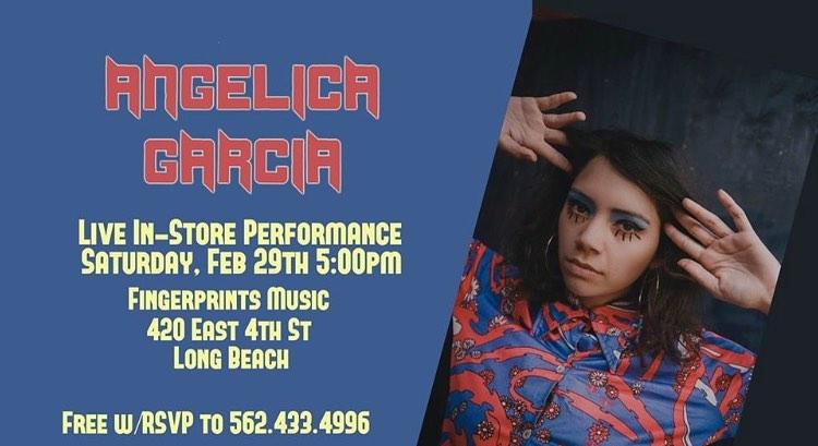 Angelica Garcia Live At Fingerprints