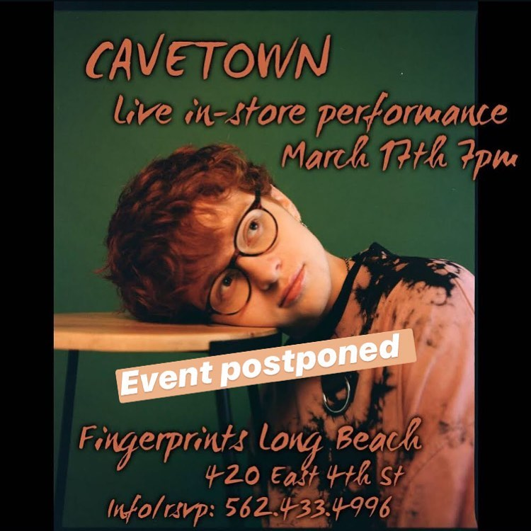 Cavetown Fingerprints Event update