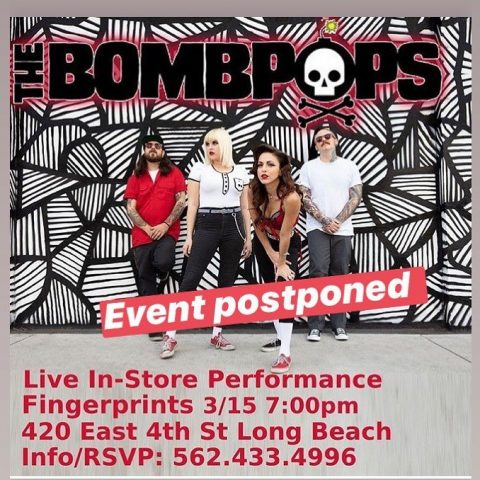 Bombpops Fingerprints Event Update