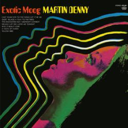 Martin Denny - Exotic Moog (LP) - Bright Orange Colored Vinyl  from the master of exotica