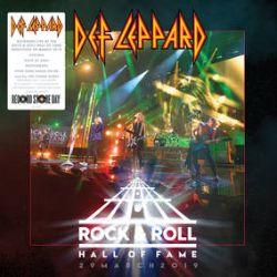 "Def Leppard - Rock N Roll Hall Of Fame  (12"") - Complete Hall Of Fame set, with Brian May & Ian Hunter on ""All the Young Dudes"""