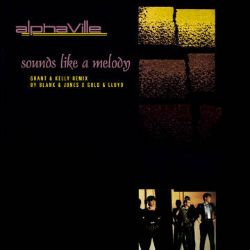 "Alphaville - Sounds Like A Melody (12"") - Unreleased new 2020 mix created Blank & Jones - Extended B-side"