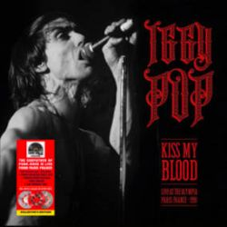 Iggy Pop - Kiss My Blood (Live Paris 1991) (3LP) - First time on vinyl. 24 tracks, tri-fold sleeve, 8-camera DVD, and poster