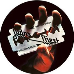 Judas Priest - British Steel -- Ltd 40th Anniv Ed (2LP) -red, white and blue marbled double vinyl