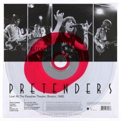 The Pretenders - Live! At the Paradise, Boston, 1980. (LP)  - Originally a promo radio show, it's The Pretenders live in their prime. Red/Clear vinyl