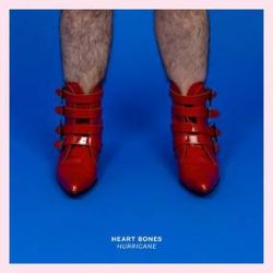 """Heart Bones - Hurricane b/w Disappearer (7"""") -Sean Na Na/Har Mar Superstar & Sabrina Ellis combine for some classic guy/girl duo action. Only 500."""