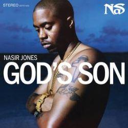 Nas - God's Son (2LP) - Blue and White swirled vinyl. Producers include Alchemist, Eminem, Ron Browz, & Salaam Remi.