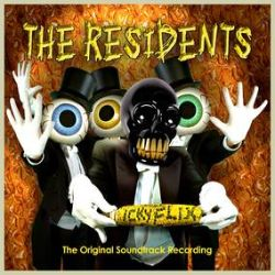 The Residents - Icky Flix: The Original Soundtrack Recording (2LP) - Orange & Yellow vinyl, rework of their best loved songs (circa 2001)