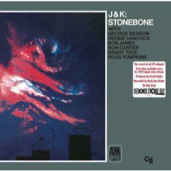 J.J. Johnson & Kai Winding - Stonebone (LP) - 1970's double trombone burner. Only released in Japan, includes George Benson, Herbie Hancock, Bob James, Ron Carter & Grady Tate. On red vinyl.  <br> (RSD044)