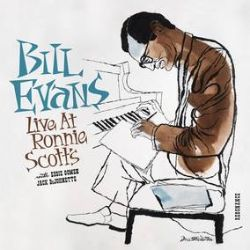 Bill Evans - Live at Ronnie Scott's (1968) (2LP) - Previously-unissued recordings with Eddie Gomez and Jack DeJohnette. <br> (RSD043)