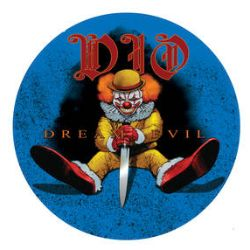 """Dio - Dream Evil Live '87  (12"""" Pic Disc) -  Two rare live tracks on a clown themed picture disc. <br> (RSD039)"""