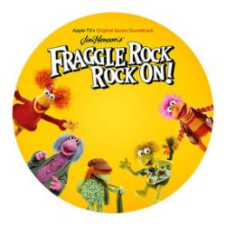 """Various Artists - Fraggle Rock Rock On (10"""") - 1-sided 10"""" picture disc compiling the tracks from the Apple TV series. Scarce. <br> (RSD123)"""