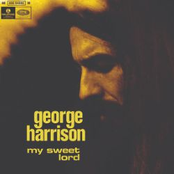 """George Harrison - My Sweet Lord (7"""") - Recreated """"Angola Sleeve"""" for the first solo #1 single for a Beatle. Phil Spector production. <br> (RSD054)"""