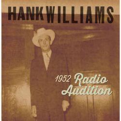 "Hank Williams - 1952 Radio Audition (7"") - Rare recordings from Hank Williams radio show audition, first time vinyl 7"". Red Vinyl. <br> (RSD133)"