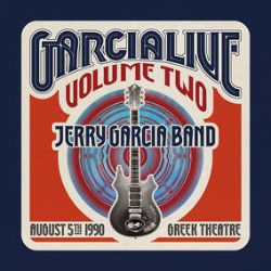 Jerry Garcia Band - Garcia Live Volume Two: August 5th, 1990 (4LP) - Live, later years set from the Greek Theatre in Berkeley, CA. Béla Fleck guests. <br> (RSD047)