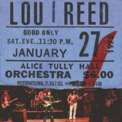 Lou Reed - Live At Alice Tully Hall (2LP) - The 2nd show of Lou's NYC debut as a solo artist, during the Transformer tour (01.27.73) Burgundy vinyl. <br> (RSD103)
