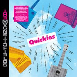 """Magnetic Fields - Quickies (LP) - The complete Quickies 7"""" box released on a single disc, with a bonus track. <br> (RSD081)"""