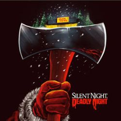 Various Artists - Silent Night, Deadly Night (Song Soundtrack) (LP) - Chimney Hellfire vinyl (red + orange swirl) with 10 original songs, plus two unreleased & unused tracks. <br> (RSD126)