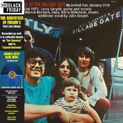 Larry Coryell - At The Village Gate (LP) - Larry's long out of print, deluxe press on light blue vinyl. <br> (RSD030)