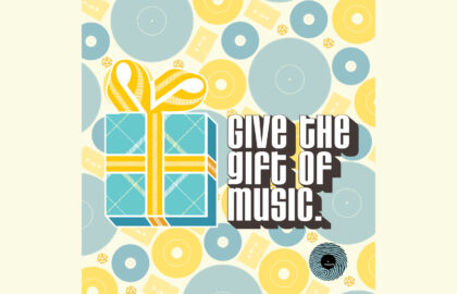 Give The Gift Of Music Promotion