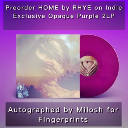 Picture of Home LP signed by Rhye