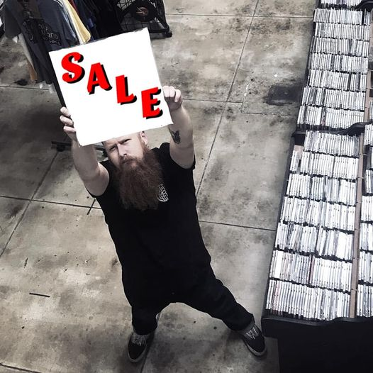 New Year's Sale Sign