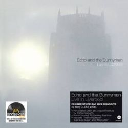 Echo & The Bunnymen - Live in Liverpool  (2LP) - The 2002 classic live album  recorded in 2001 at Paul McCartney Institute of Performing Arts, 'Live In Liverpool' features electrifying performances of classics including 'The Killing Moon', 'Lips Like Sugar' and 'The Cutter'. 180g clear vinyl, first time issued. (RSD252)