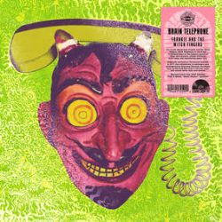Frankie and the Witch Fingers - Brain Telephone  (LP) - Remastered from original source tapes, RSD Exclusive color vinyl edition of 3000. New Art, Spot UV Covers + New full color inserts that line up across the 4 reissues to combine 1 image. (RSD267)