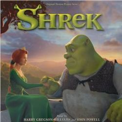 Harry Gregson-Williams and John Powell - Shrek Original Motion Picture Score (LP) - Shrek is the 2nd most successful animated franchise in history and celebrating its 20th anniversary in 2021. Two of the most prominent composers in animated features joined forces to create a score that is still as fun and popular as it was when it first came out. Slime green vinyl. (RSD387)