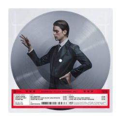 """I Don't Know How But They Found Me - RAZZMATAZZ (B-Sides)  (10"""" Pic Disc) - A collection of three never-before heard B-Sides from the Razzmatazz recording sessions available on 150g. Featuring """"Mx. Sinister,"""" """"Modern Day Cain (Slow Jam Version), and """"From The Gallows (Demo)."""" Also included is iDKHOW's cover of Beck's """"Debra,"""" as well as the hit """"Leave Me Alone,"""" and """"Leave Me Alone (Piano Version)."""" (RSD291)"""
