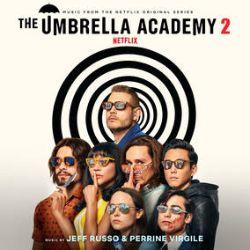 Jeff Russo - The Umbrella Academy, Season 2 (Music From The Netflix Original Series)  (LP) - Pressed on Black & White striped vinyl. (RSD376)