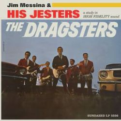 Jim Messina - The Dragsters (LP) - Prior to his work with Buffalo Springfield and Kenny Loggins, 16 year old Jim Messina recorded The Dragsters, a 1964 album full of fierce, fiery, and infectious surf rock instrumentals with just enough sounds from the strip to get your motor running! The 14 tracks are presented here in their magnificent (and rare) mono versions plus four bonus pounders, all reissued for the first time and pressed on blue vinyl! (RSD328)