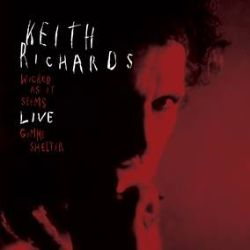 """Keith Richards - Wicked as it SeemsRed vinyl featuring two previously unreleased live tracks (""""Wicked As It Seems""""/""""Gimme Shelter.""""). Recorded in December 1995 at the Town & Country Club, London as part of the Main Offender Tour. (RSD372)"""