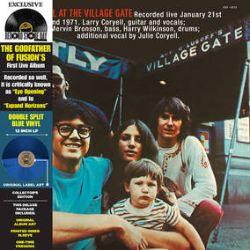 "Larry Coryell - At The Village Gate (LP) - ""Double Split"" Dark Blue & Light Blue translucent single LP. (RSD236)"