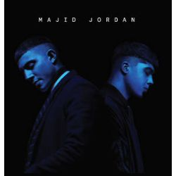 """Majid Jordon - Majid Jordon (LP) - This 5th anniversary release of their self-titled album is pressed on Transparent Blue vinyl. Features the songs """"My Love"""" and """"Something About You.""""  (RSD301)"""