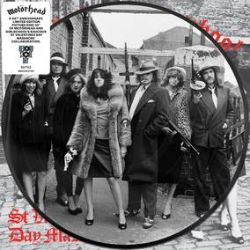 """Motorhead - St Valentine's Day Massacre (10"""" Pic Disc) - A 40th Anniversary limited edition picture disc edition of Motorhead and Girlschool's raucous collaboration.(RSD334)"""