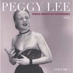 Peggy Lee - World Broadcast Recordings 1955, Vol. 1 (LP) -  Peggy Lee was in top form in 1955, and she recorded 49 selections as radio transcriptions for the World Program Service. These recordings were not released to the public, but used by radio stations with unexpected time to fill. The music is more jazz-oriented than many of her Decca recordings of the time. The recordings were mastered for vinyl at Infrasonic Mastering and pressed at Furnace Record Pressing on color vinyl, exclusively for RSD. (RSD2084)