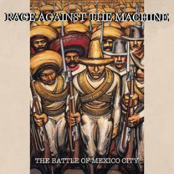 Rage Against The Machine - The Battle of Mexico City  (2LP) - The legendary show at Mexico City's 'Palacio de los Deportes' 1999. This was the band's first ever show in Mexico and part of their Battle Of Los Angeles tour. This release makes its vinyl debut on red and green colored vinyl with white label as a tribute to the Mexican flag. (RSD367)