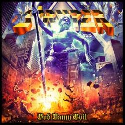 Stryper - God Damn Evil  (LP) - Indie Retail / Record Store Day Exclusive Color Vinyl + Japan Bonus Track (First Time on LP). (RSD394)