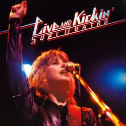 Suzi Quatro - Live & Kickin (2021 Mix) (2LP) - RSD Exclsuive Limited Double Colour Vinyl. This is live album, originally only released in Japan and Australia in 1978, has been newly re-mixed from the multitracks and taken from a forthcoming CD Box set of Suzi's albums from the 1970's to be released Summer 2021. (RSD2122)