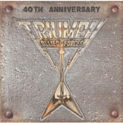 """Triumph - Allied Forces 40th Anniversary (Box set) - 2x LP Gatefold - Includes Live from Cleveland (first time available on vinyl, remastered) 12"""" Picture Disc of original Allied Forces, 7"""" Allied Forces - Single from upcoming Tribute Album, track and artist TBD.  (RSD409)"""