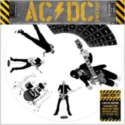 """AC/DC - Through The Mists Of Time  (12"""") - Two-track picture disc includes Through The Mists of Time and Witch's Spell. (RSD201)"""