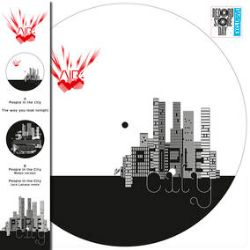 """Air - People In The City (12"""") - Picture Disc Edition (Maxi 33T) of Air """"People In The City"""". (RSD202)"""