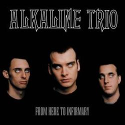 Alkaline Trio - From Here to Eternity (LP) 20th anniversary color variant - transparent red w/ black splatter. (RSD204)