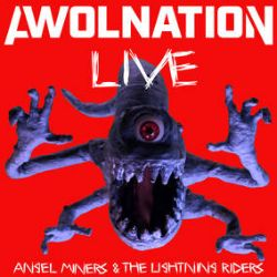"""Awolnation - Angel Miners & The Lightning Riders (12"""") - Since Awolnation couldn't tour, they brought the band experience to the studio to play the new album. Features all live instrumentation and no tracks. Red and blue tie dye vinyl. (RSD209)"""